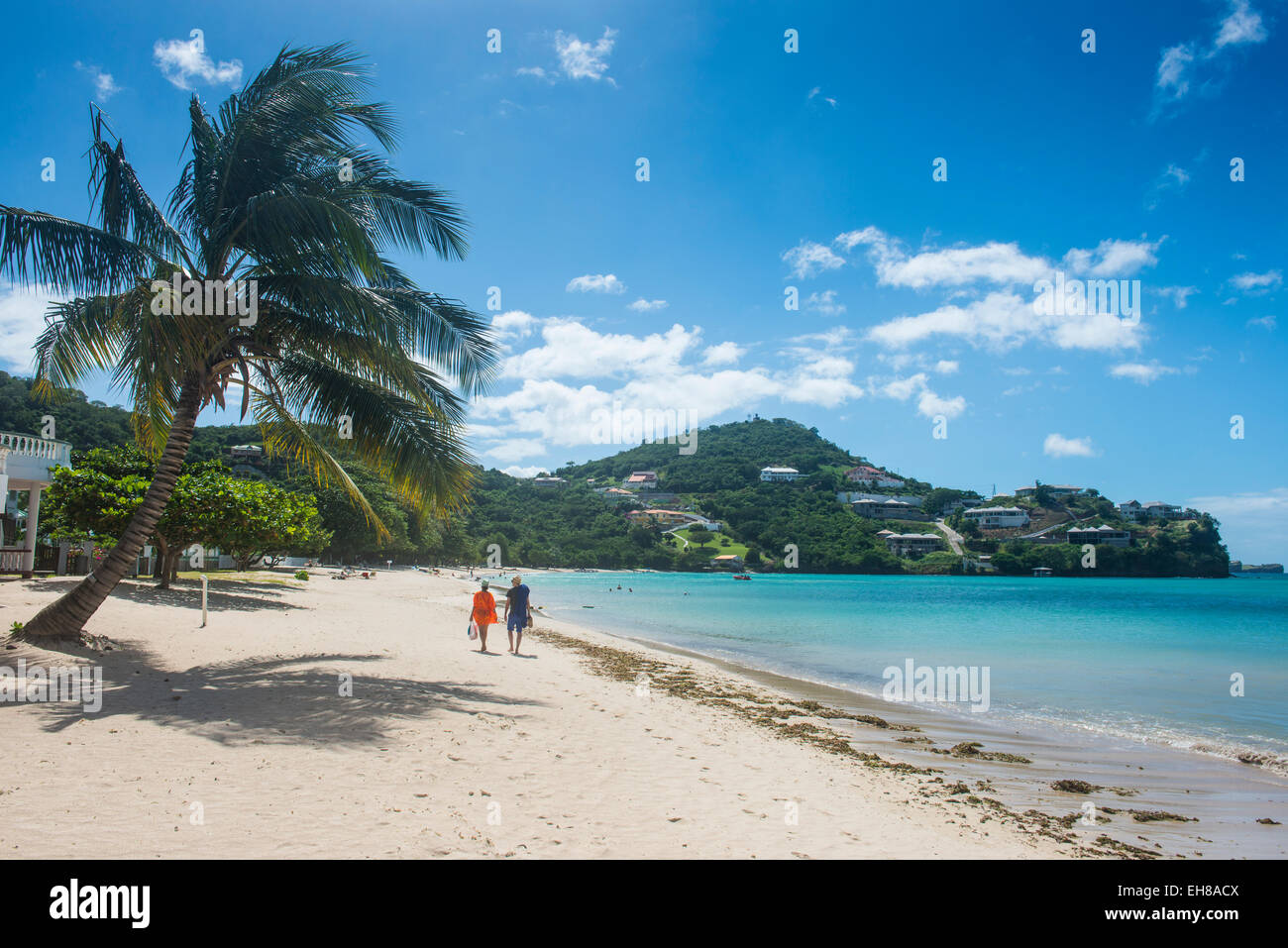 Mourne Rouge beach, Grenada, Windward Islands, West Indies, Caribbean, Central America - Stock Image