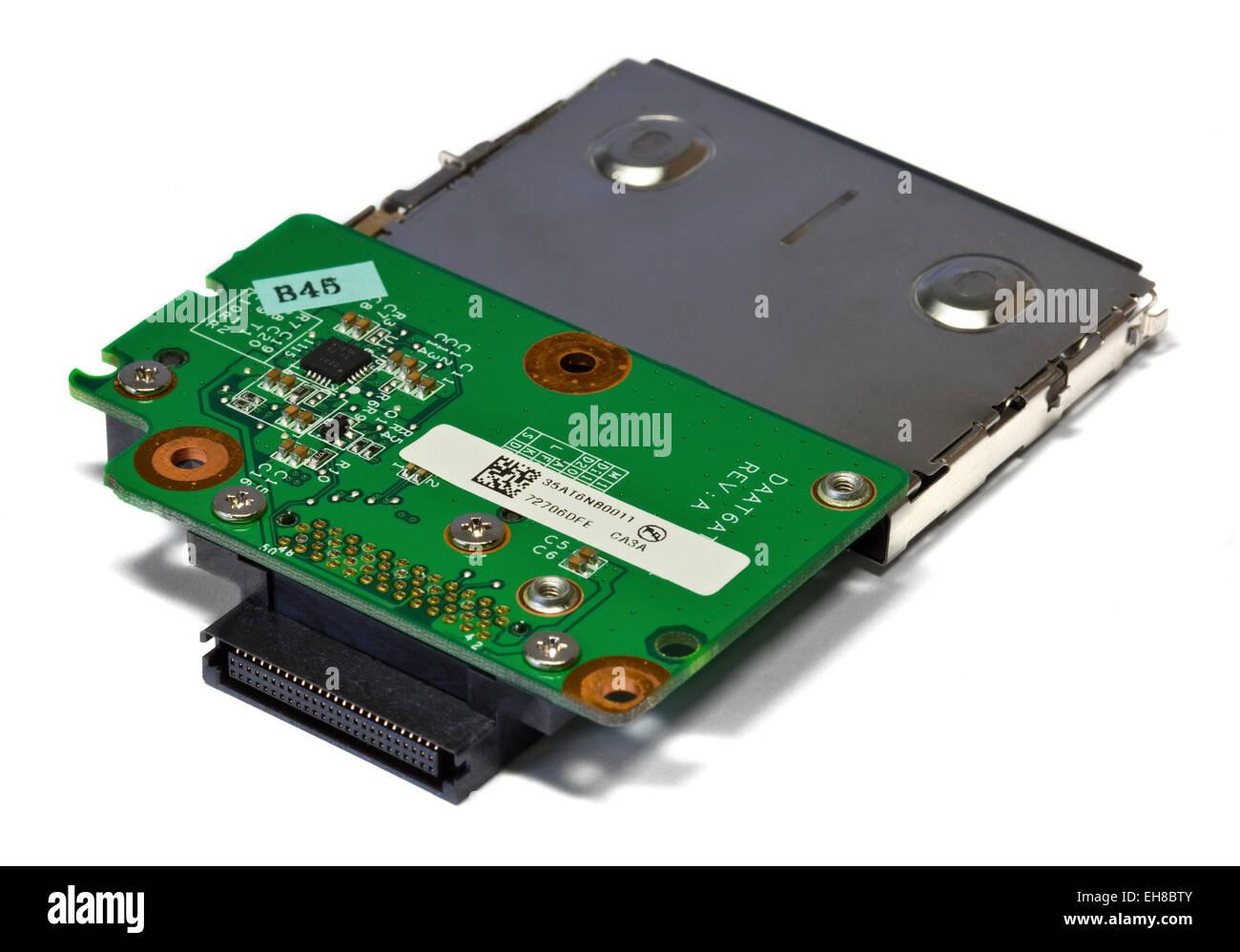 laptop express card slot stock photo 79475563 alamy