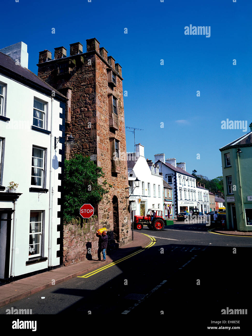Glens of Antrim, Northern Ireland - Stock Image