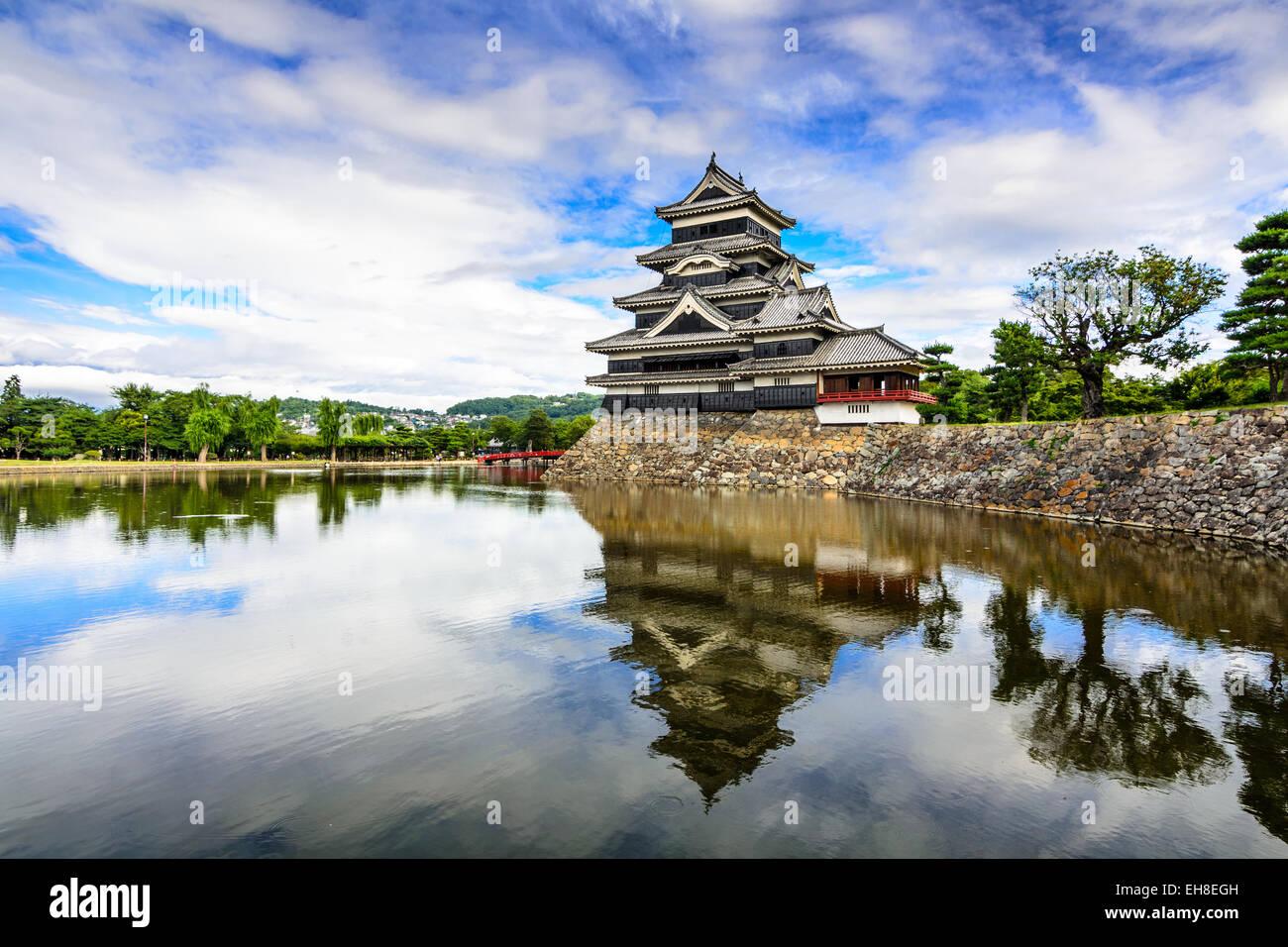 Mastumoto Castle in Matsumoto, Japan. - Stock Image