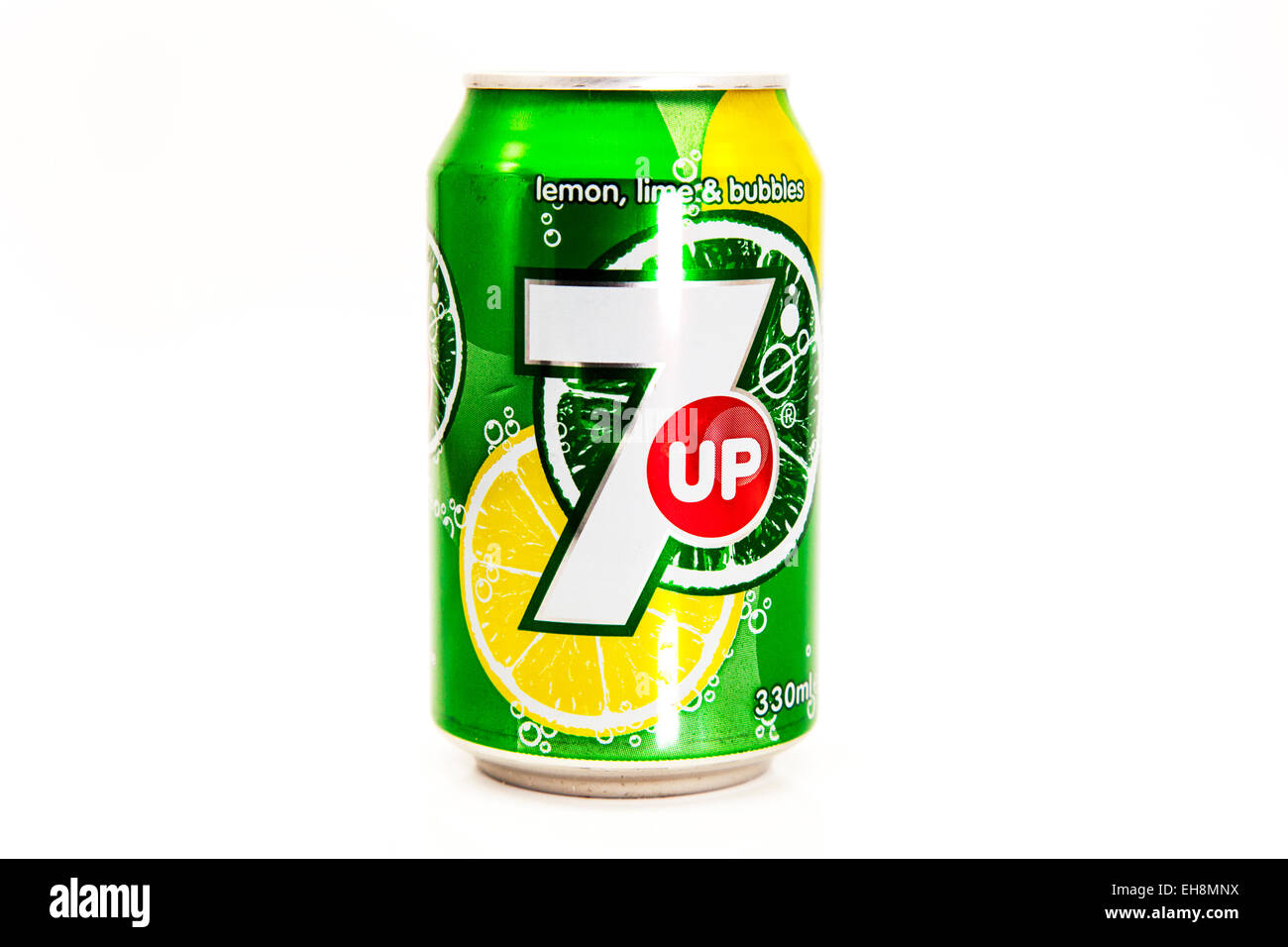 7up 7 Up Can Of Pop Fizzy Drink Lemonade Tin Tinned Logo