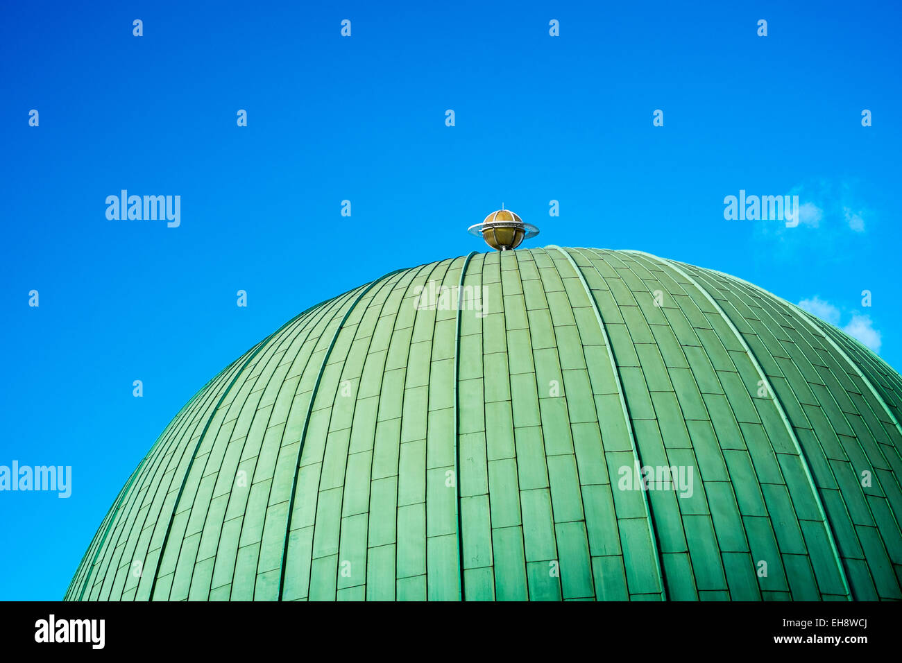 Planetarium London tourist attraction UK popular - Stock Image