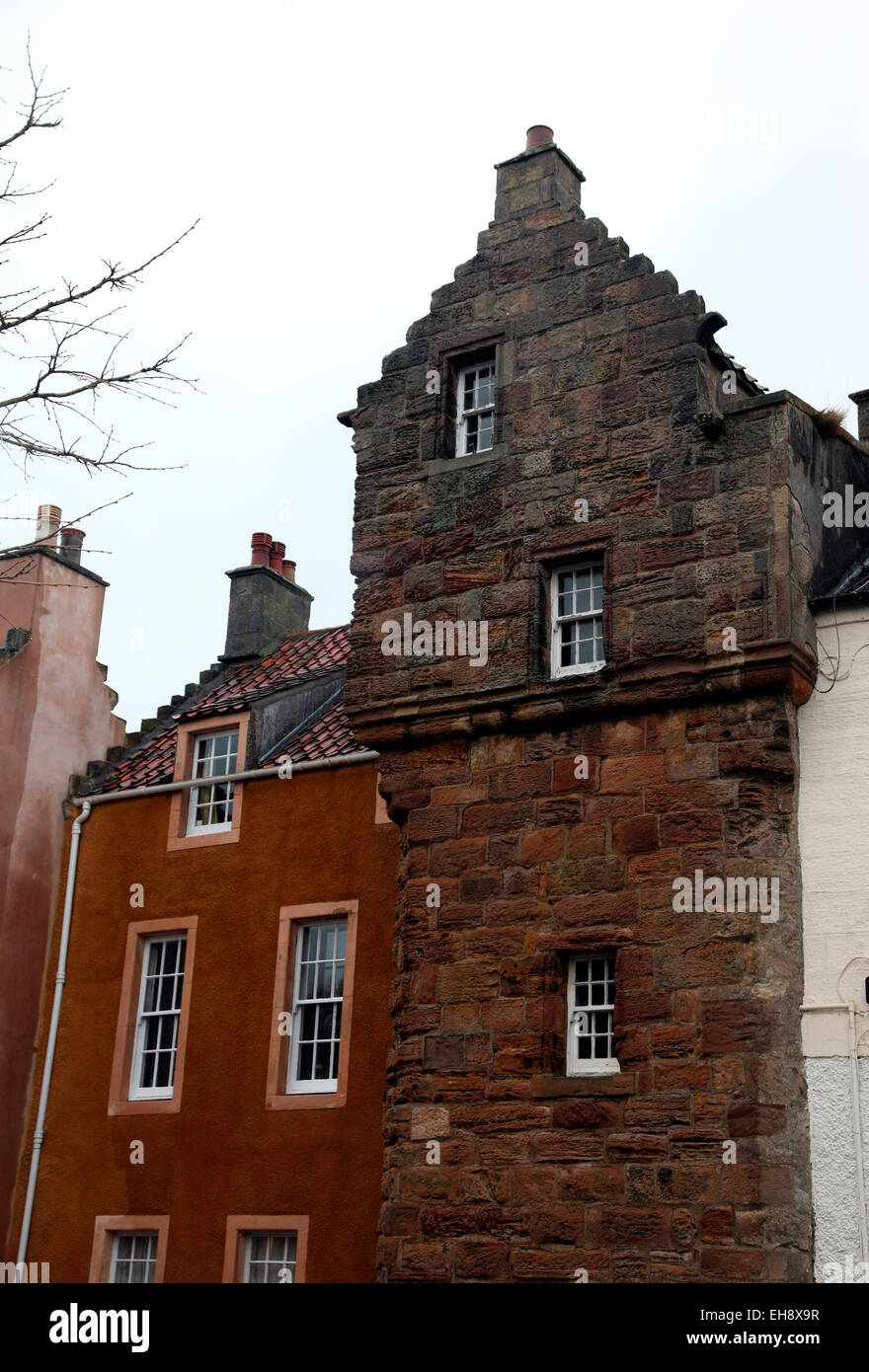 Kelly Lodging, townhouse of the Earls of Kellie in Pittenweem' - Stock Image