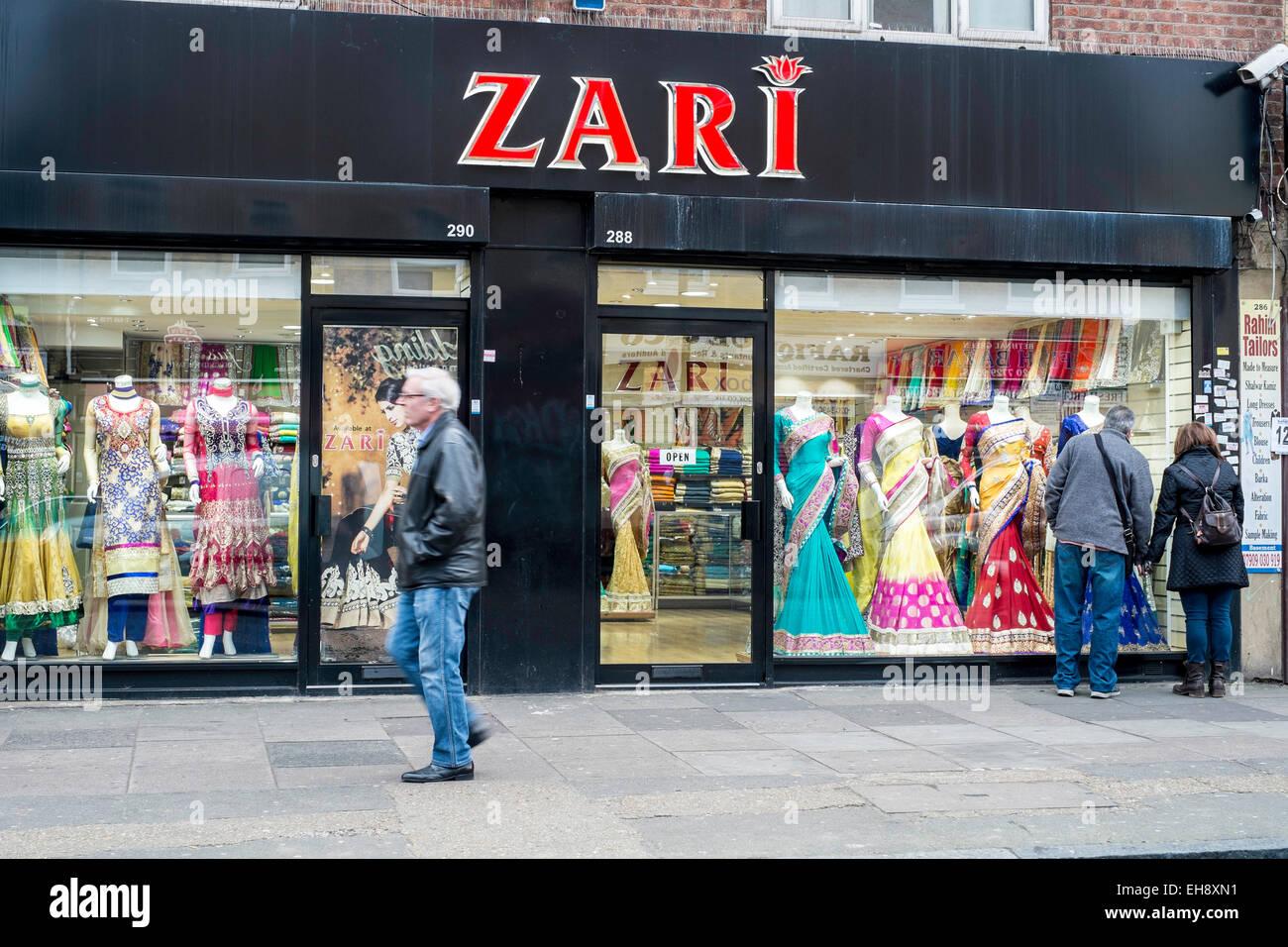 London UK east ethnic culture eastern minority - Stock Image