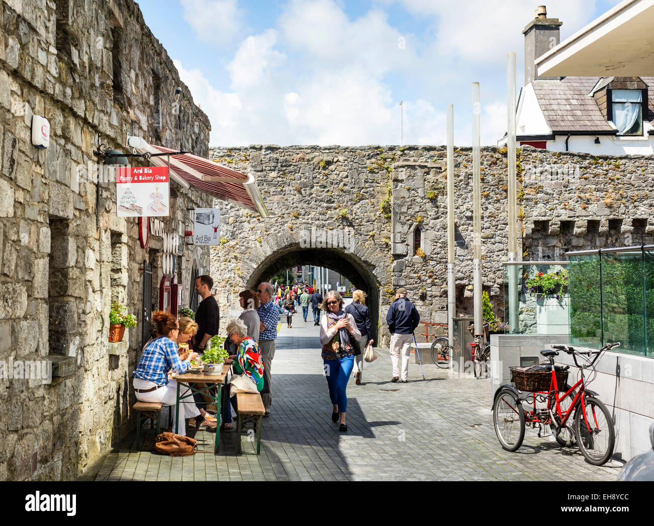 Spanish Arches, Galway City, Ireland - Stock Image