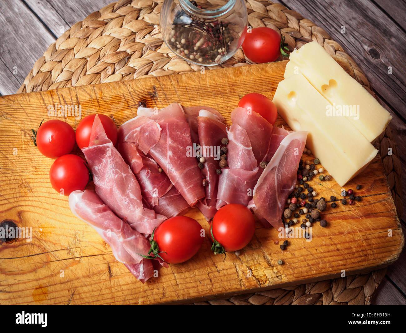 Prosciutto - Stock Image