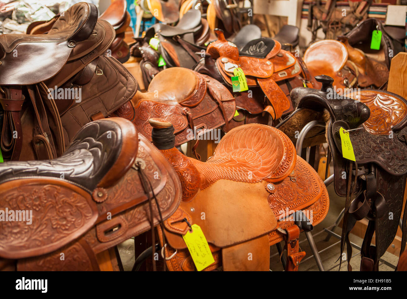 bad0d8aba3 saddles for sale at the Half Moon Bay Feed and Fuel Co.
