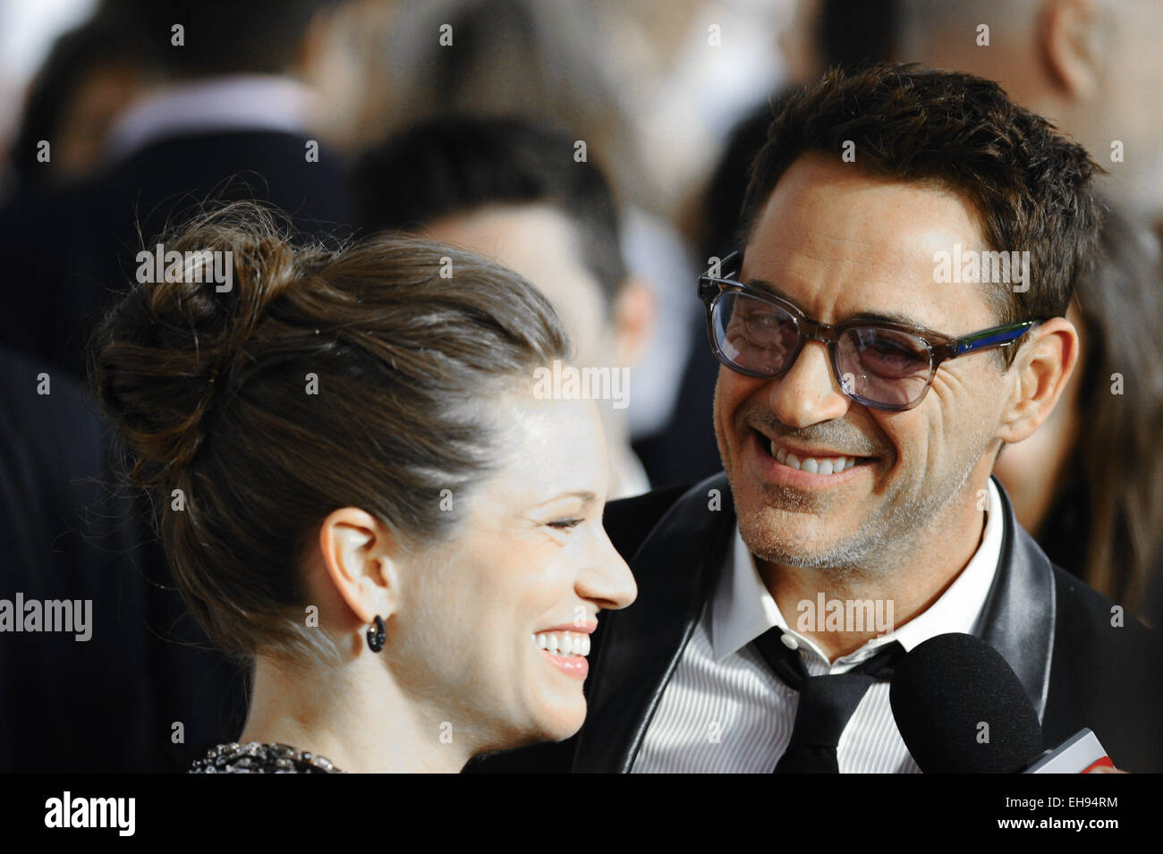 The 39th Toronto International Film Festival at the Roy Thomson Hall - 'The Judge' - Premiere Featuring: - Stock Image
