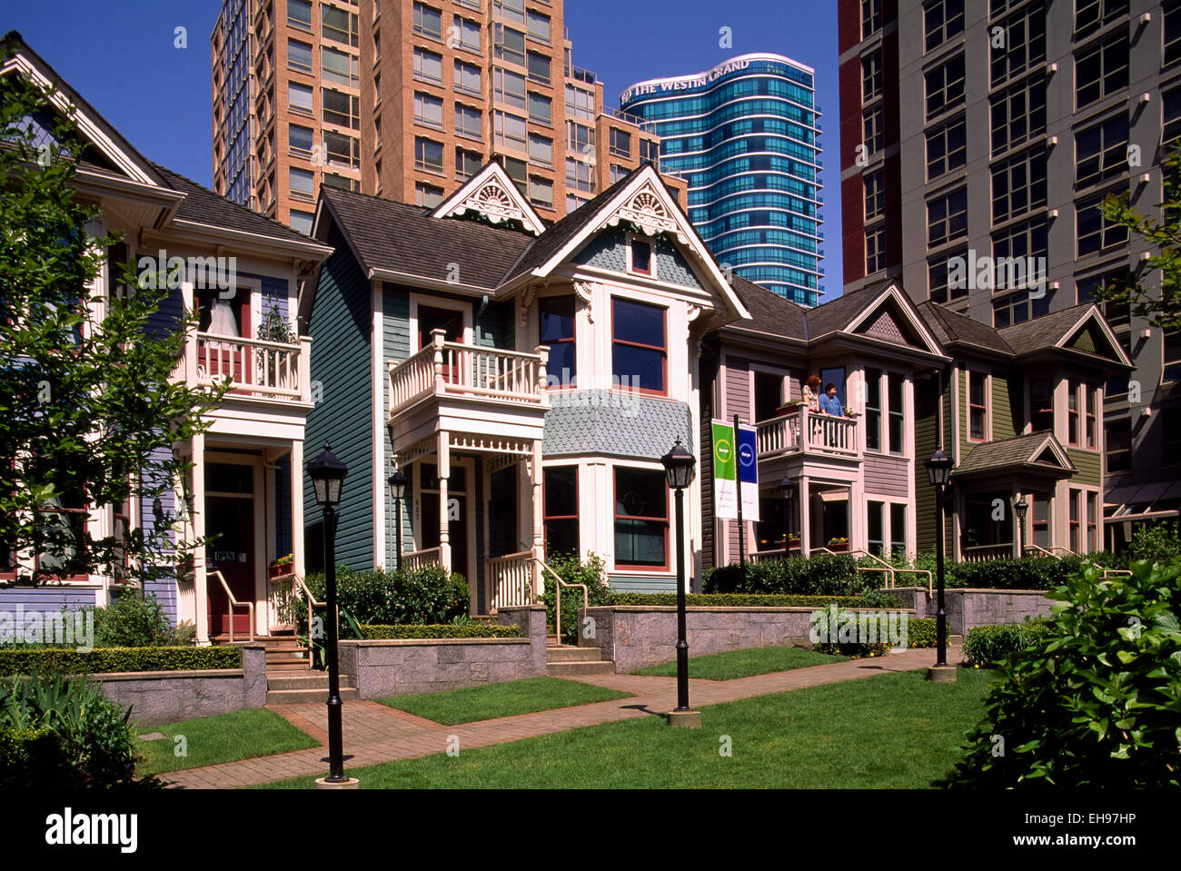 Yaletown, Vancouver, BC British Columbia, Canada - Heritage