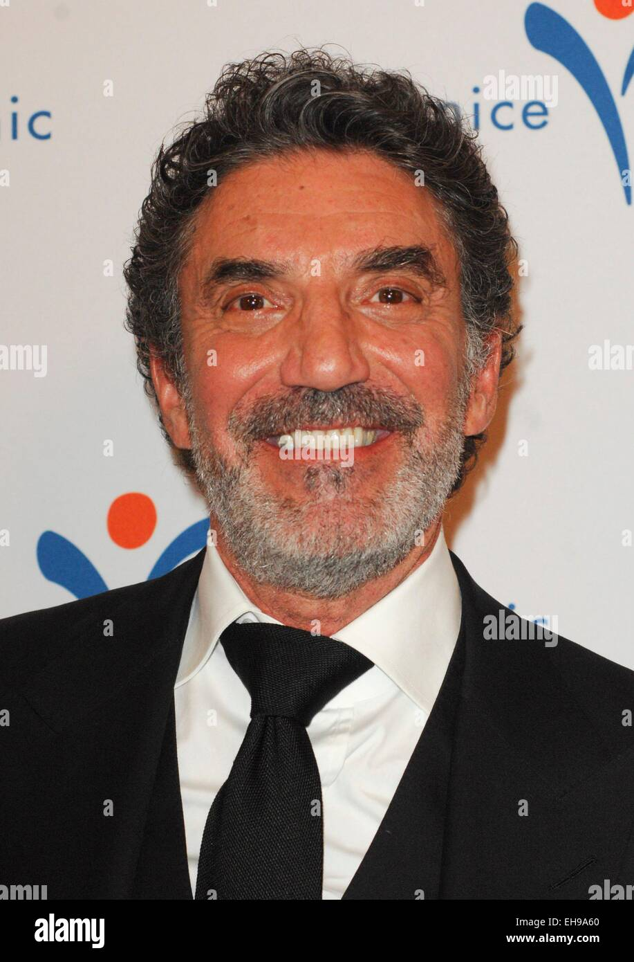 Beverly Hills, CA. 9th Mar, 2015. Chuck Lorre at arrivals for 2015 Silver Circle Gala, The Beverly Wilshire Hotel, - Stock Image