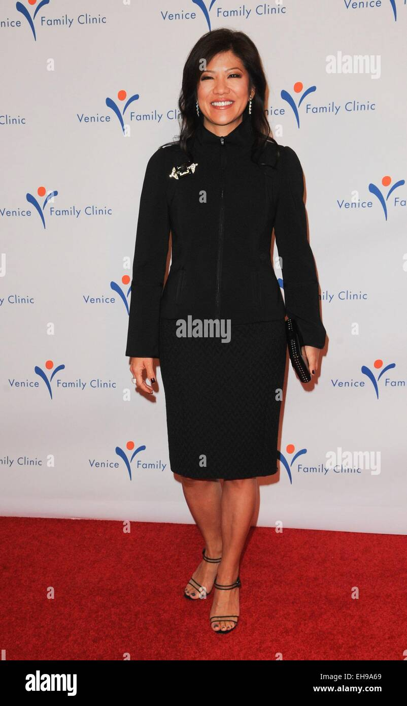 Beverly Hills, CA. 9th Mar, 2015. Julie Chen at arrivals for 2015 Silver Circle Gala, The Beverly Wilshire Hotel, - Stock Image