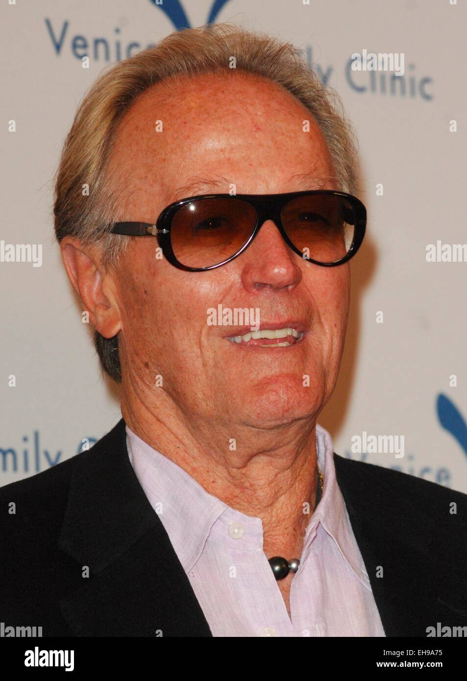 Beverly Hills, CA. 9th Mar, 2015. Peter Fonda at arrivals for 2015 Silver Circle Gala, The Beverly Wilshire Hotel, - Stock Image