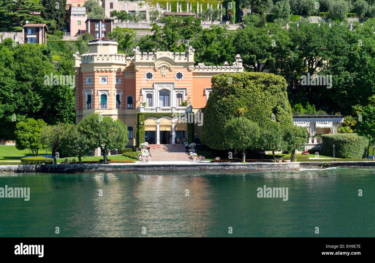 villa feltrinelli residence of benito mussolini from
