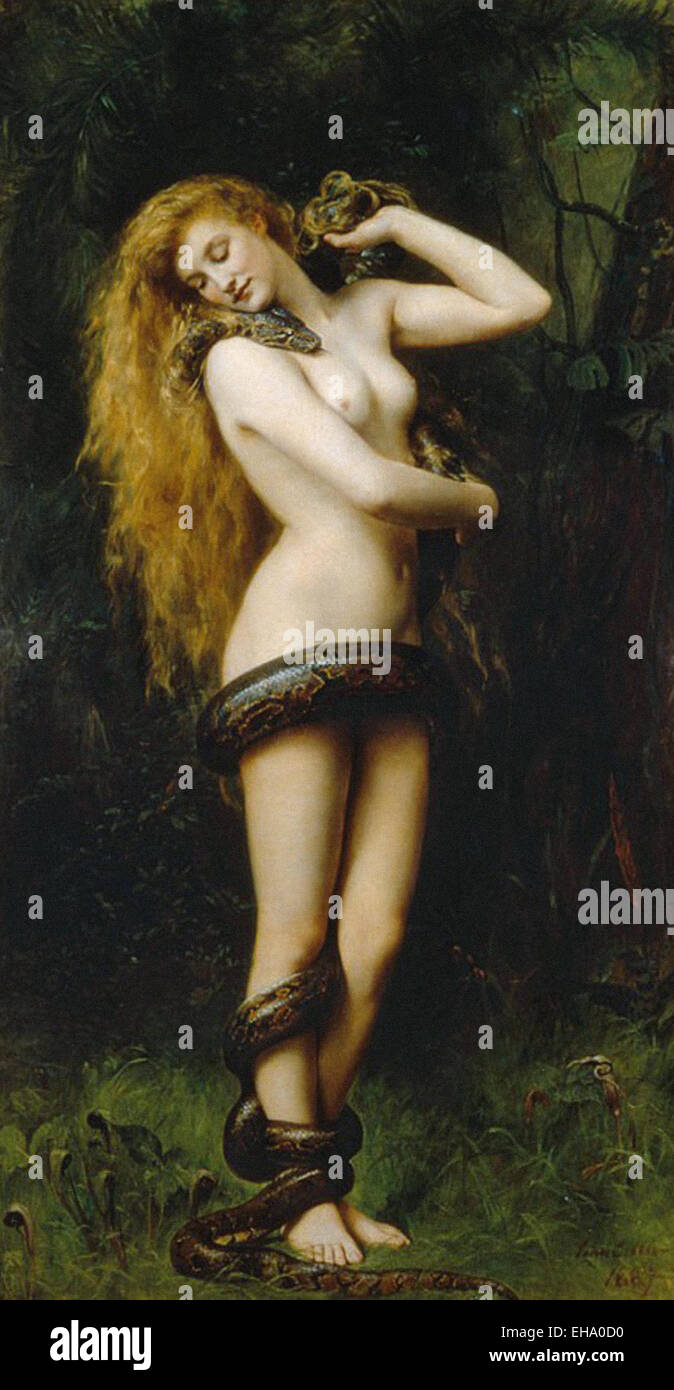 John Collier  Lilith - Stock Image