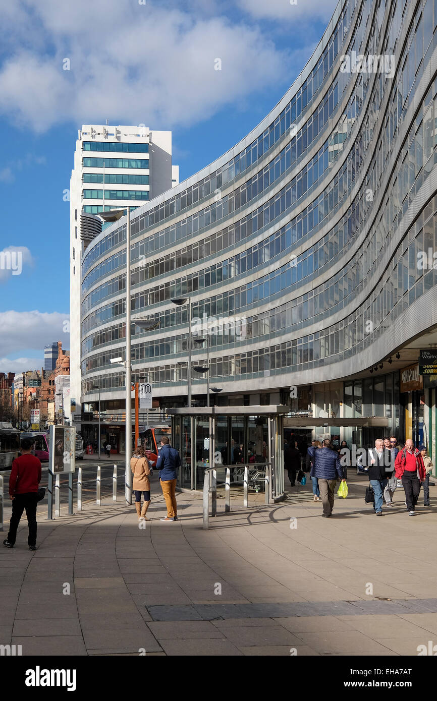 Manchester England: Gateway House Hotel and Office Accommodation Piccadilly Manchester - Stock Image