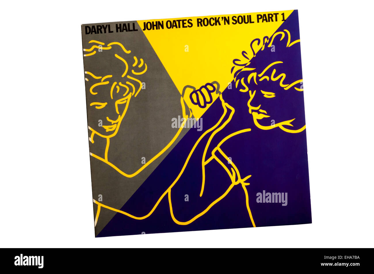 Rock 'n Soul Part 1 was a greatest hits album by American musical duo Hall & Oates, released by RCA Records in 1983. Stock Photo