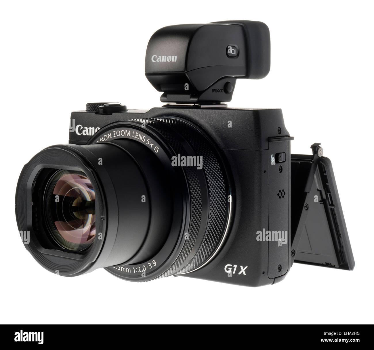 Canon G1X digital camera. - Stock Image