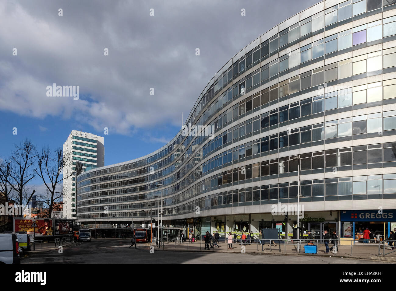 Manchester, England: Piccadilly offices - Stock Image