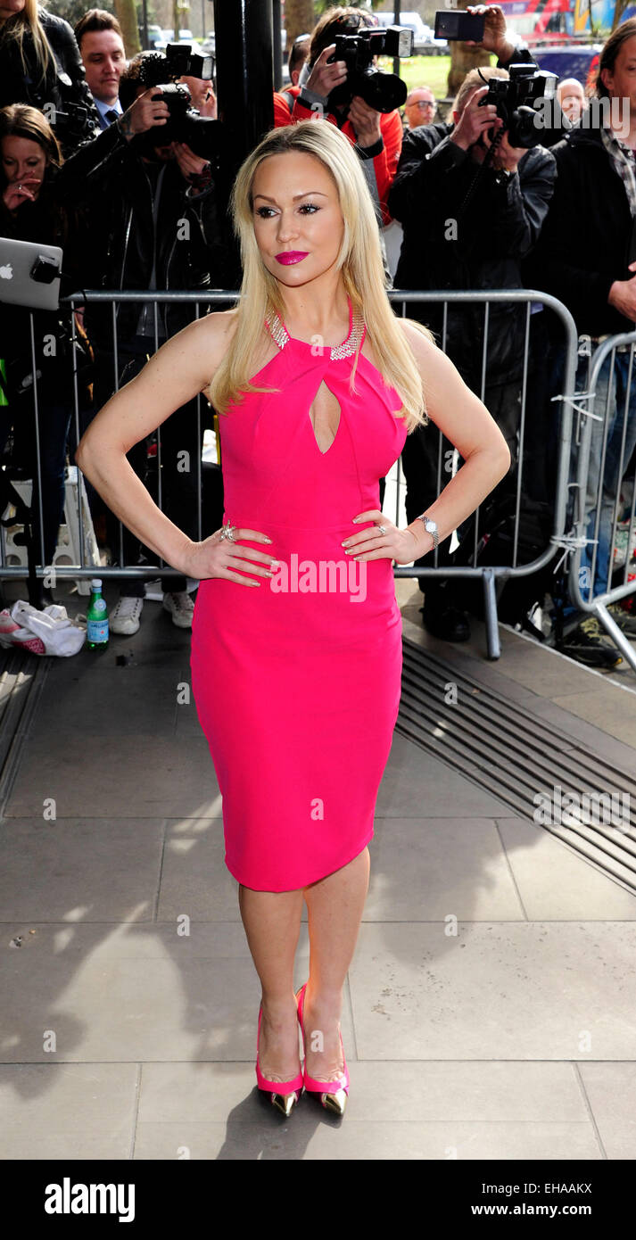 London, UK. 10th March, 2015. Kristina Rihanoff attend TRIC Awards 2015 at the Grosvenor House Hotel London 10 March - Stock Image