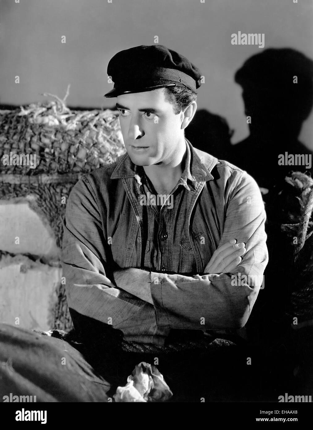 John Gilbert, on-set of the Film 'Way for a Sailor', 1930 - Stock Image
