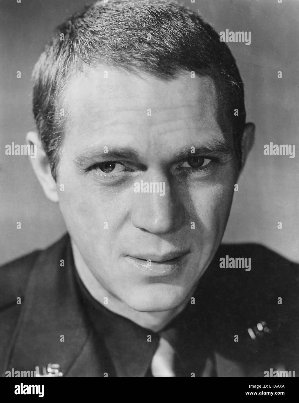 Steve McQueen, Portrait for the Film 'The War Lover', 1962 - Stock Image
