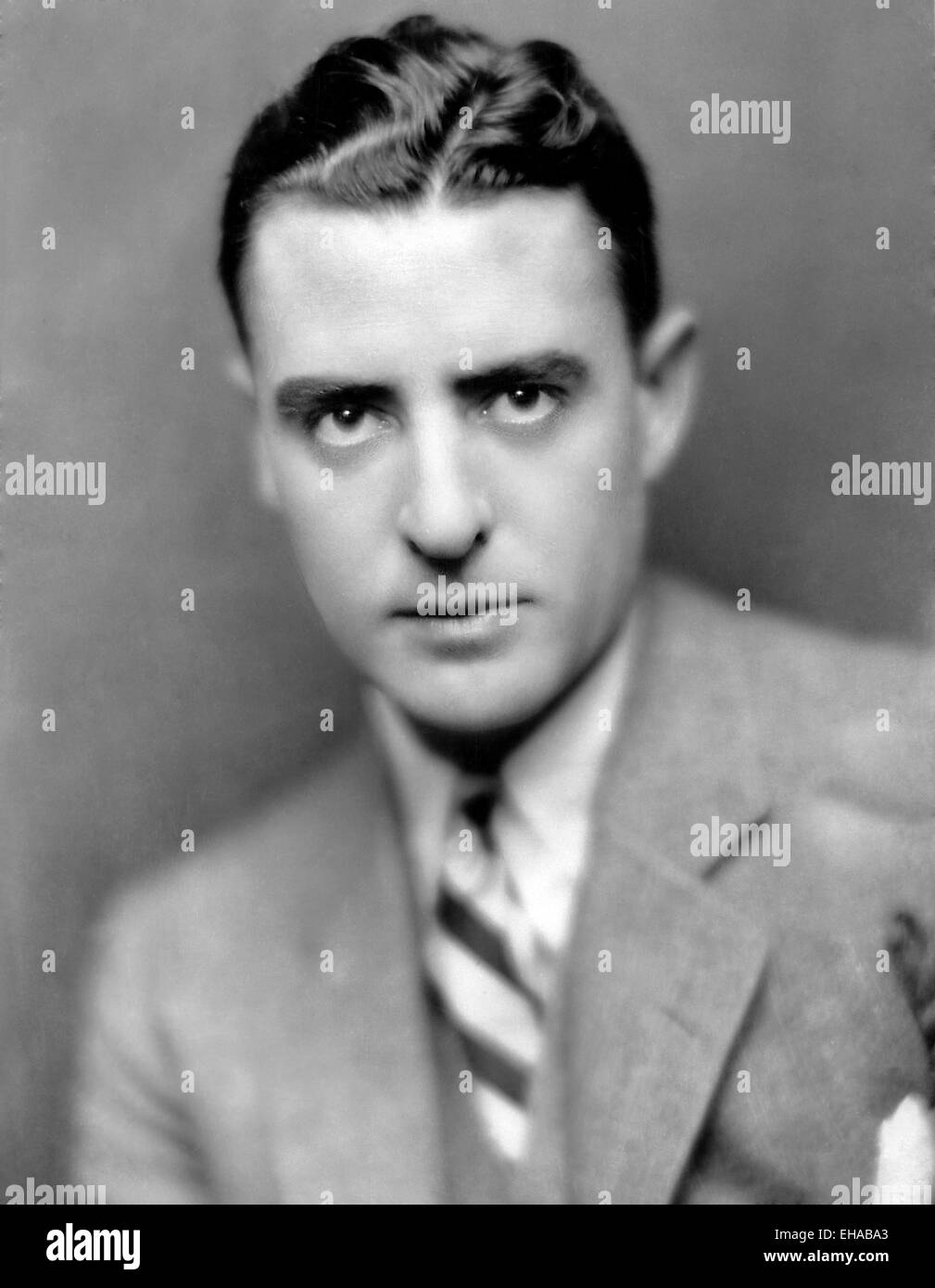 John Gilbert, Portrait, circa early 1920's - Stock Image