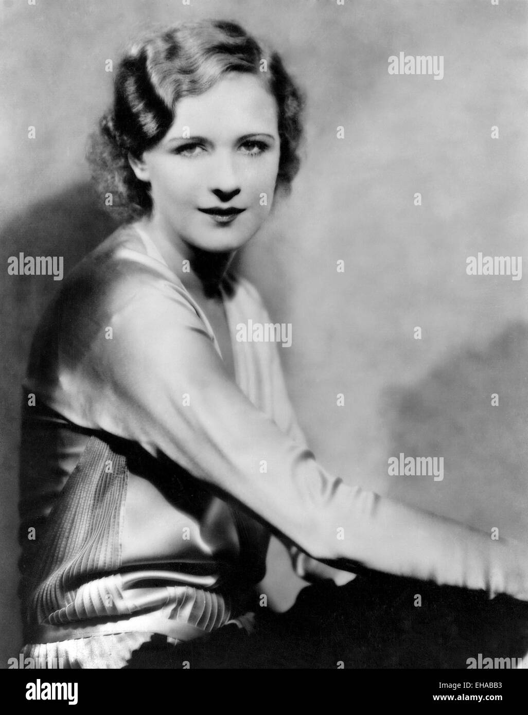 Marilyn Miller, Portrait, 1929 - Stock Image