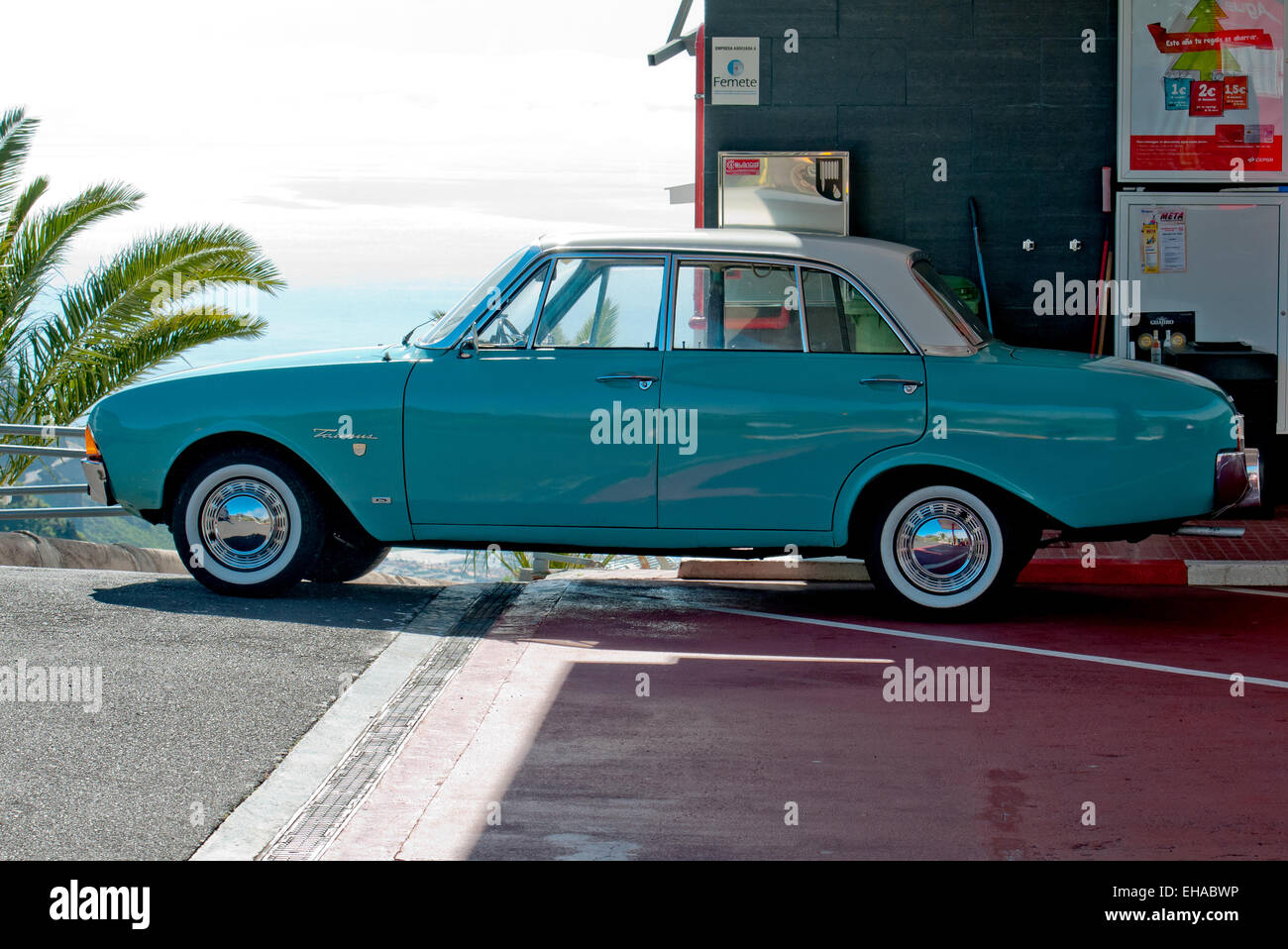 car ford taunus 17m p3 bath tub blue model year 1960 1964 EHABWP
