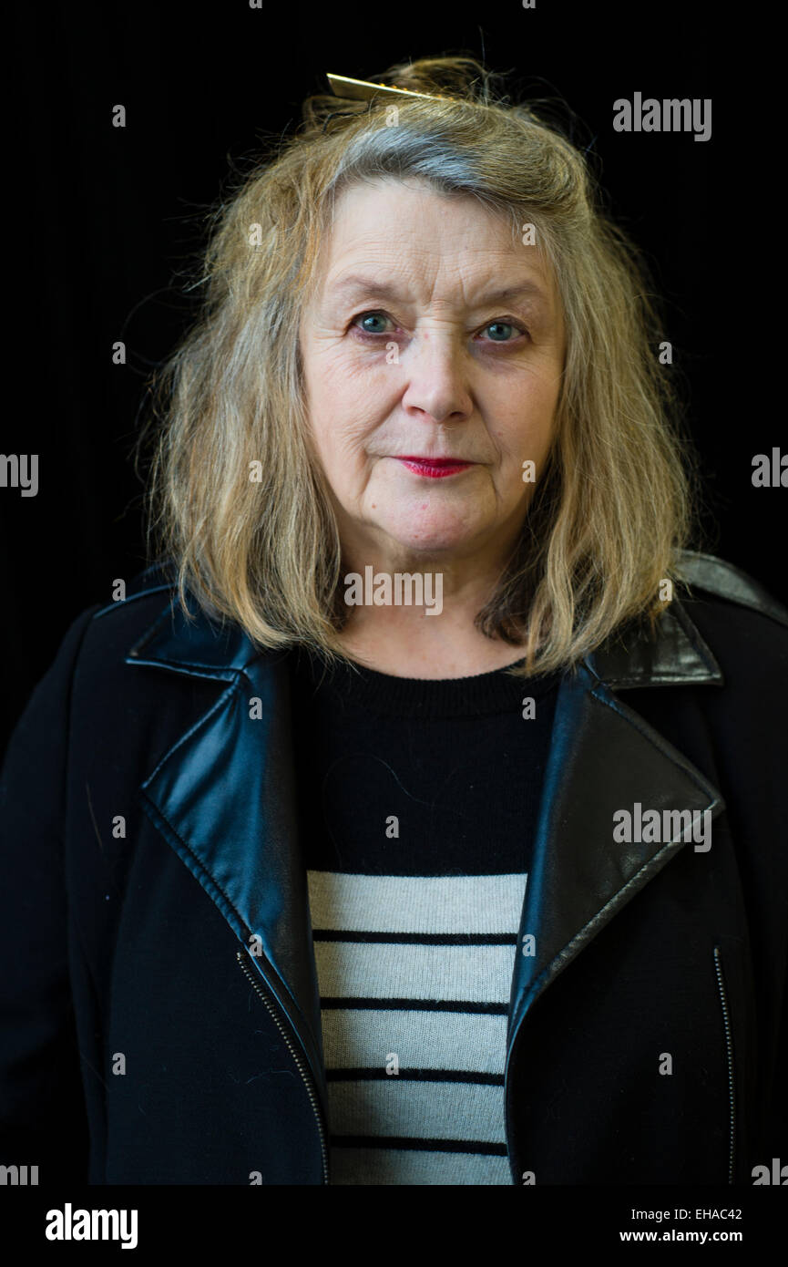 Menna Elfyn  Menna Elfyn (born 1952) is a Welsh poet, playwright, columnist, and editor who writes with passion - Stock Image