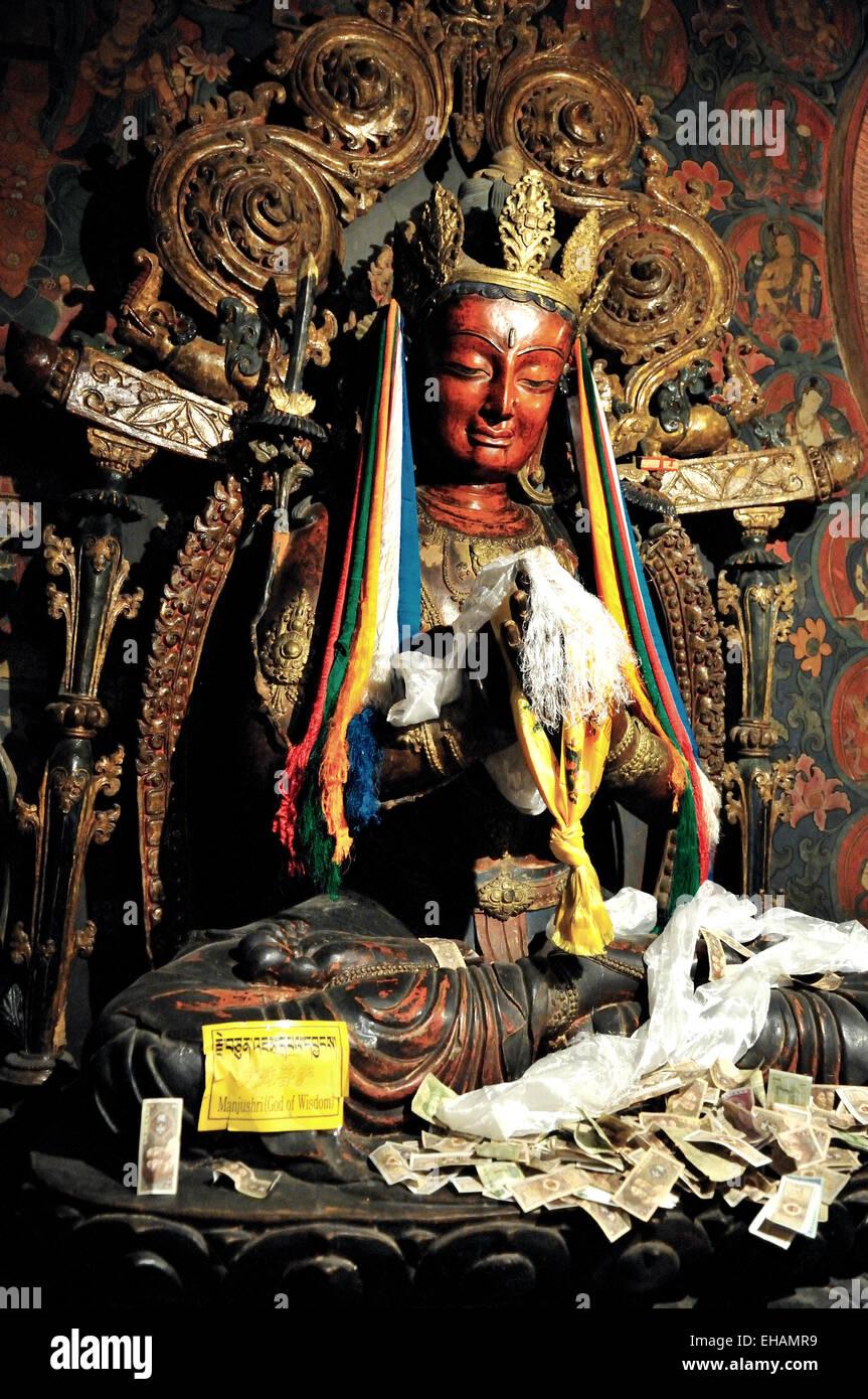 Gyantse, Pelkor Chöde Monastery - Stock Image