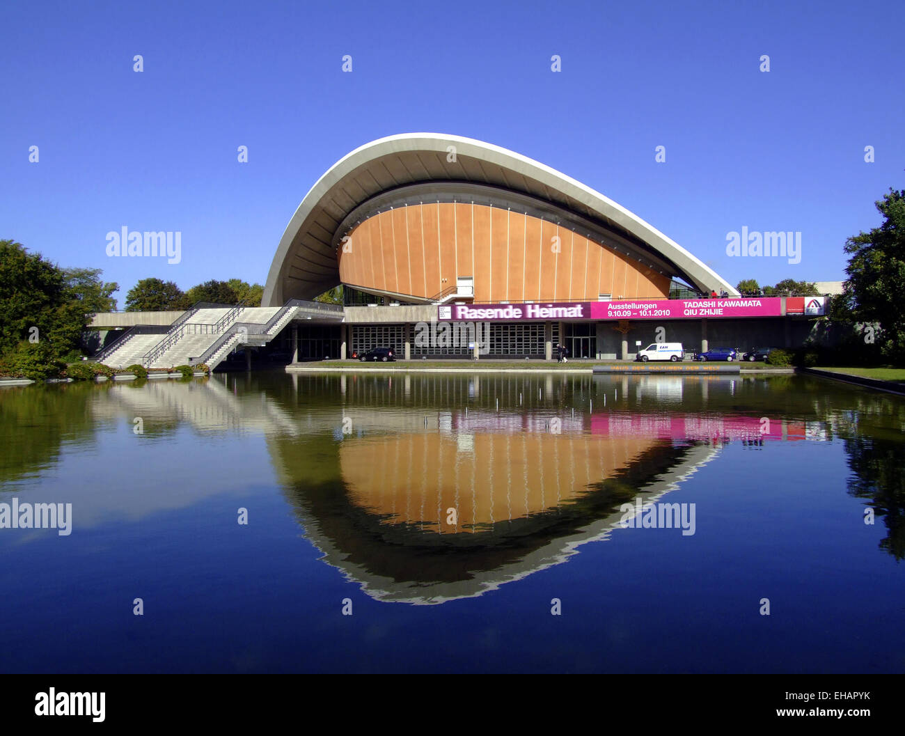 Haus der Kulturen der Welt / art gallery - Stock Image