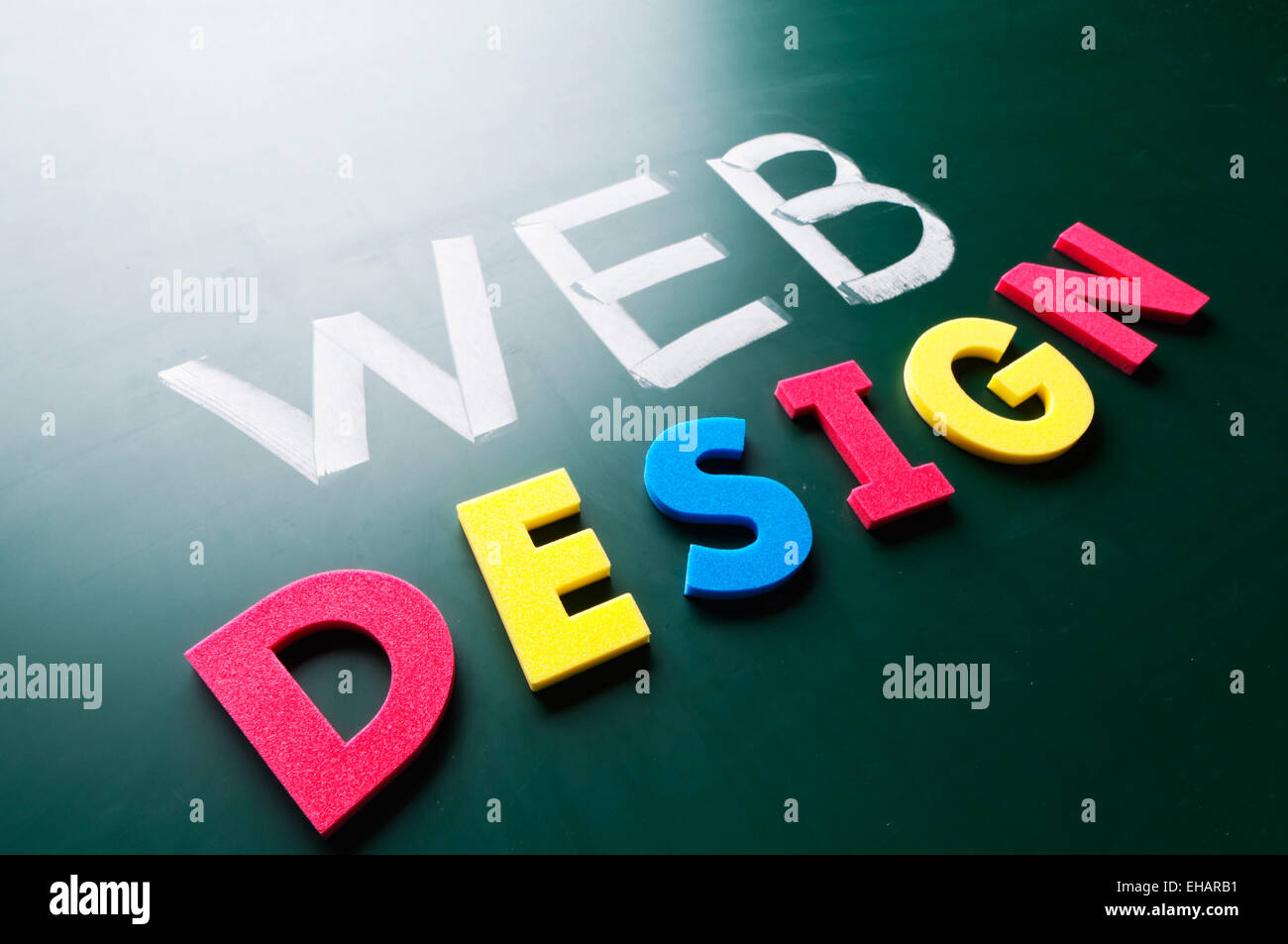 Graphic design concept - Stock Image