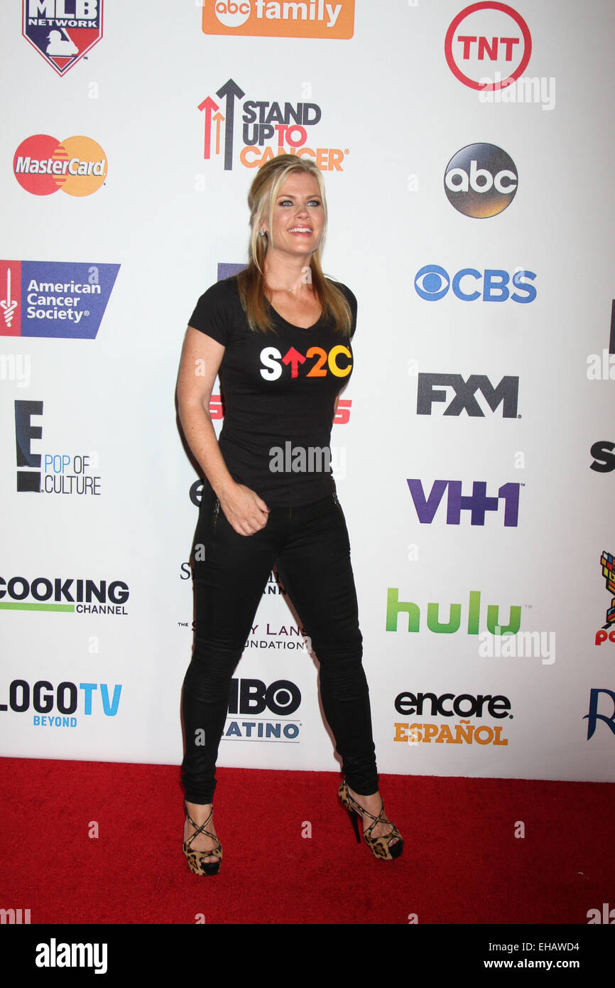 f06bac3ce9a ... Stand Up 2 Cancer Telecast Arrivals 2014 Featuring Alison Sweeney Where Los  Angeles