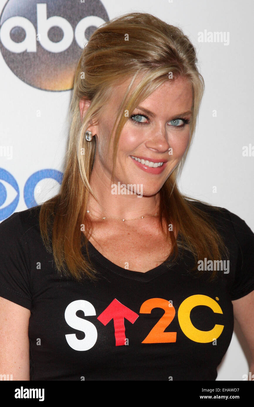 0ecdf11ecd9 Stand Up 2 Cancer Telecast Arrivals 2014 Featuring  Alison Sweeney Where  Los  Angeles