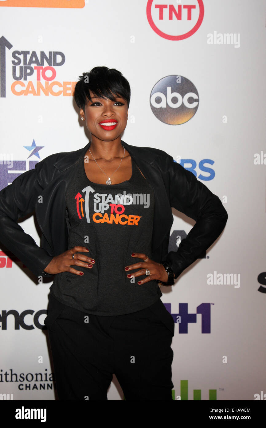 542ba5636fb Stand Up 2 Cancer Telecast Arrivals 2014 Featuring  Jennifer Hudson Where  Los  Angeles