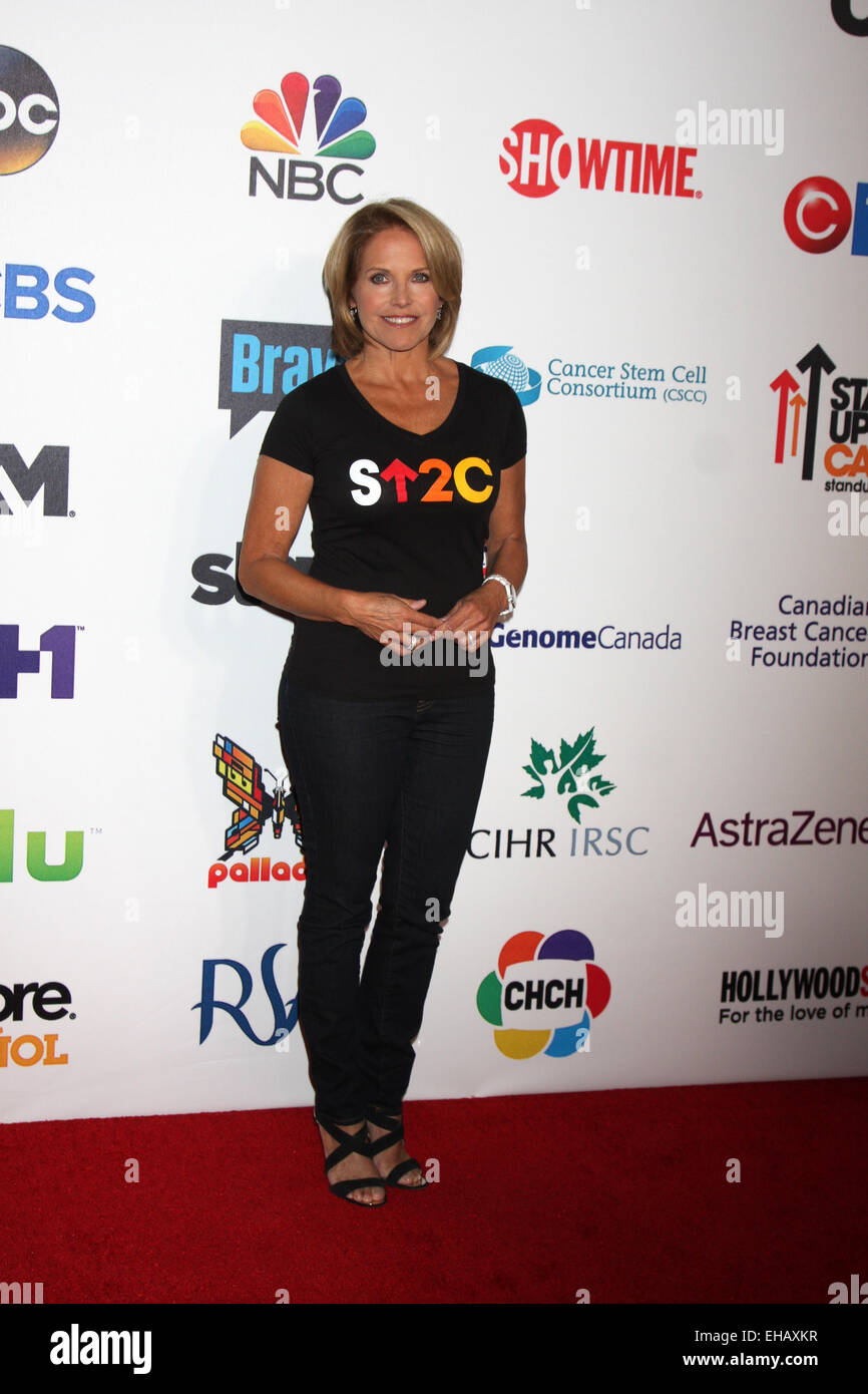 2bece5944db Stand Up 2 Cancer Telecast Arrivals 2014 Featuring  Katie Couric Where  Los  Angeles