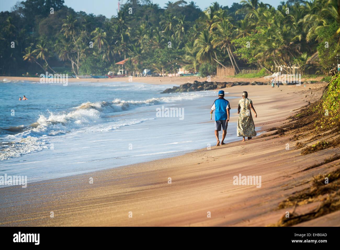 Tangalle Beach, Sri Lanka, Asia Stock Photo