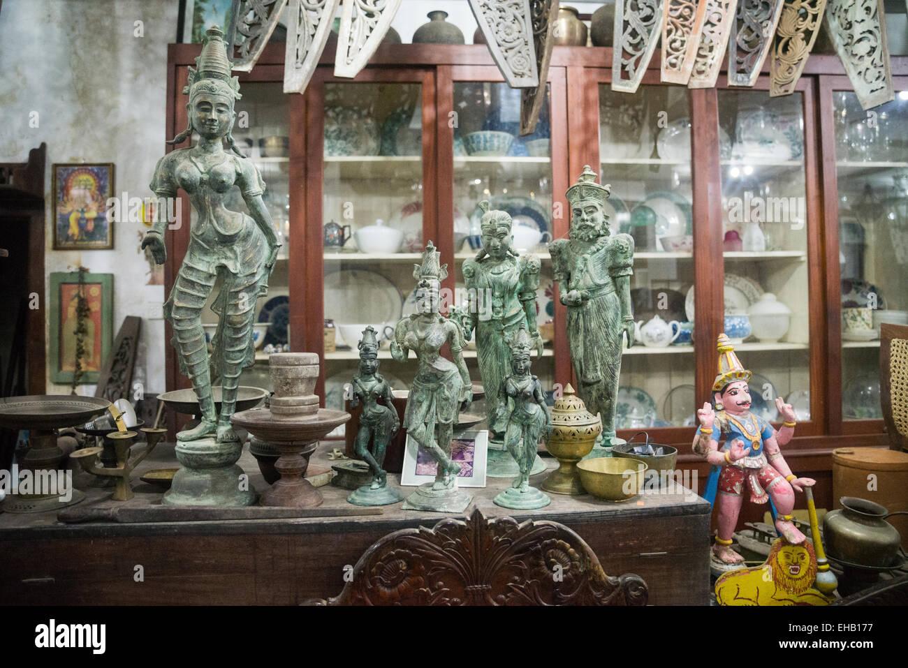 Antiques Shop Sri Lanka Asia Stock Photo 79533083 Alamy
