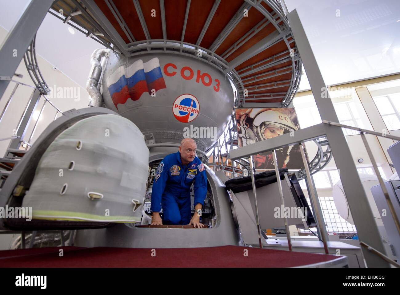 International Space Station Expedition 43 NASA Astronaut Scott Kelly