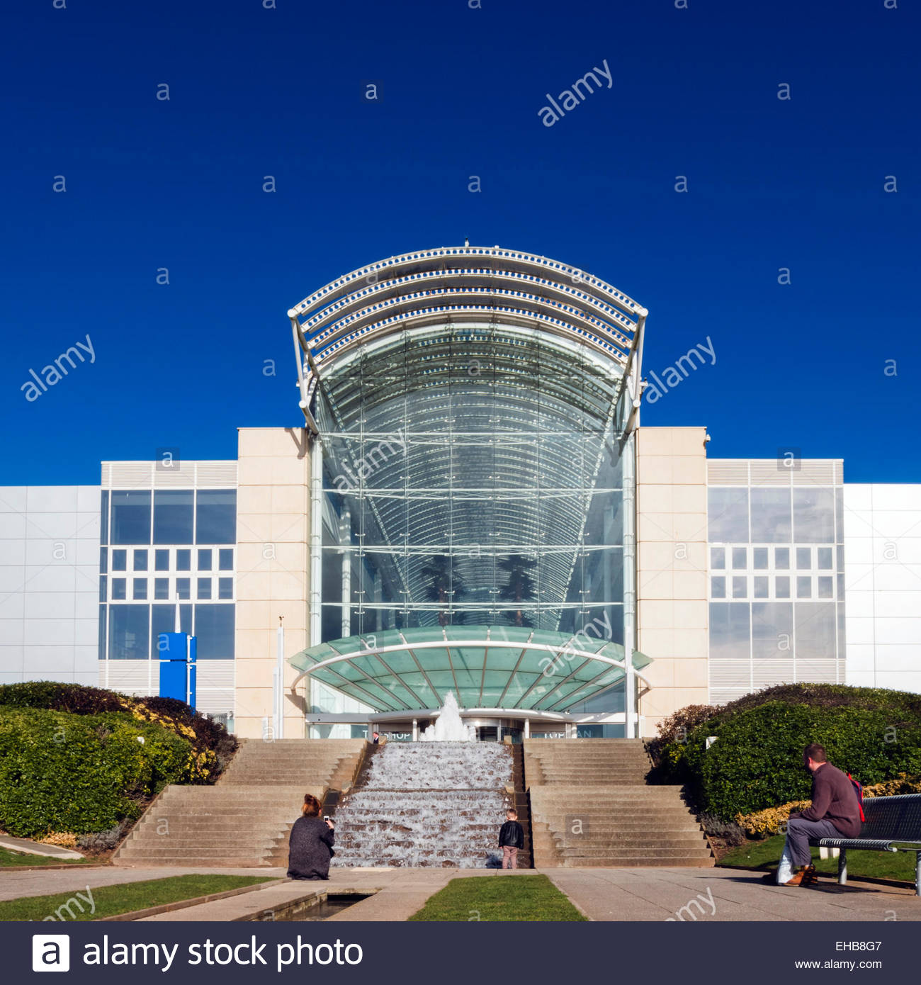 Cribbs Causeway shopping mall exterior, near Bristol, UK. - Stock Image