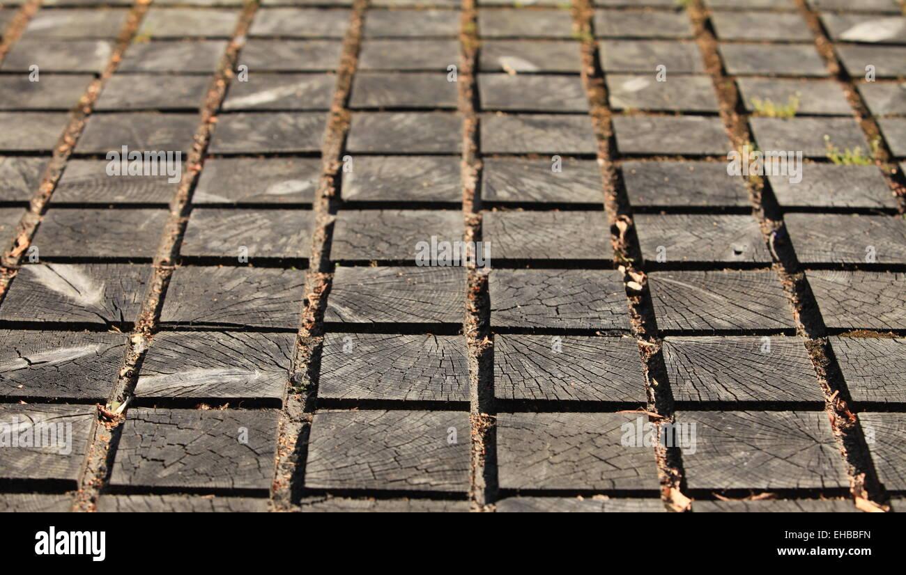 Wooden Paving Blocks Stock Photos Wooden Paving Blocks Stock