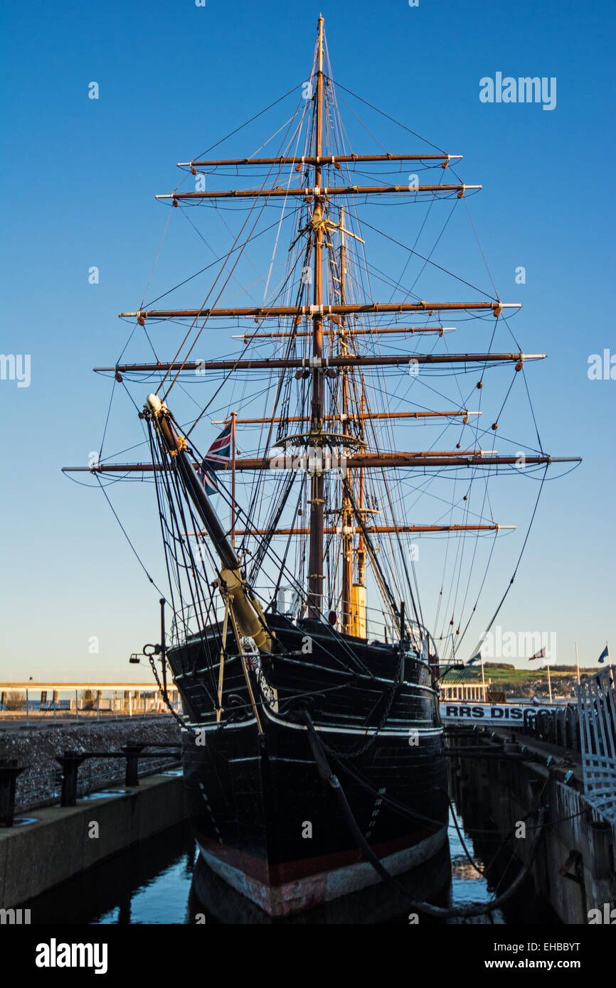 R.R.S Discovery,Dundee,Scotland - Stock Image