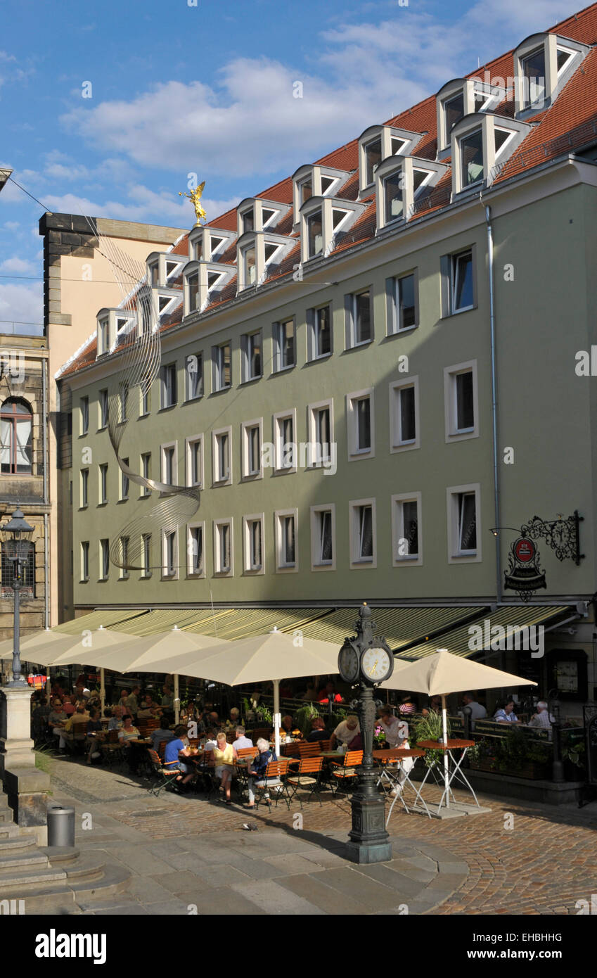 Munzgasse Street Dresden Germany Stock Photos & Munzgasse Street ...