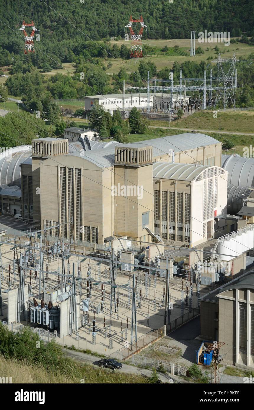 Wind Tunnels ONERA Aerospatiale Research Center or Aerospace Research Center Avrieux Savoie France - Stock Image