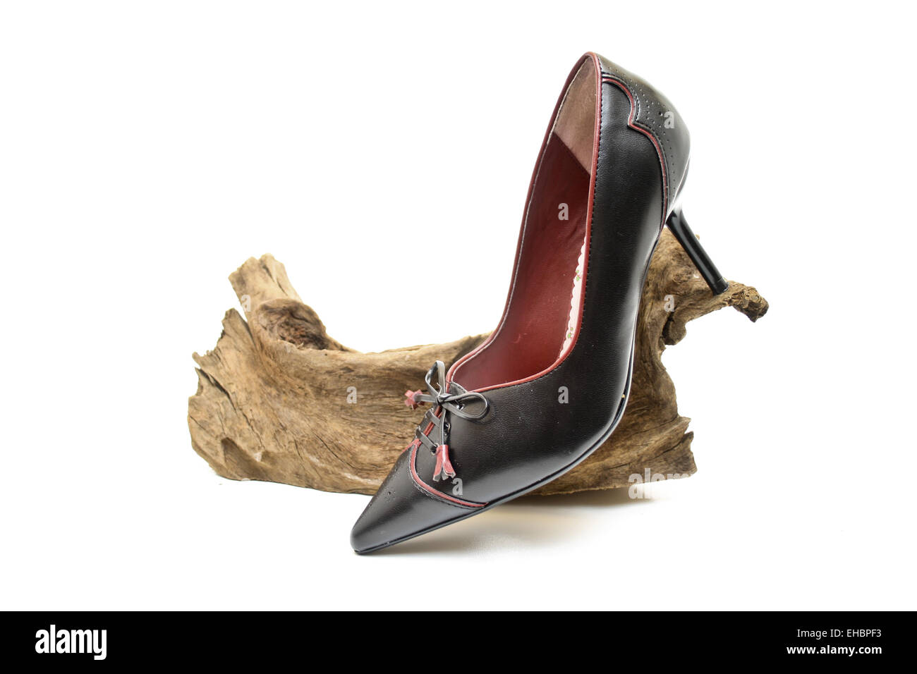 Ladies shoes - Stock Image