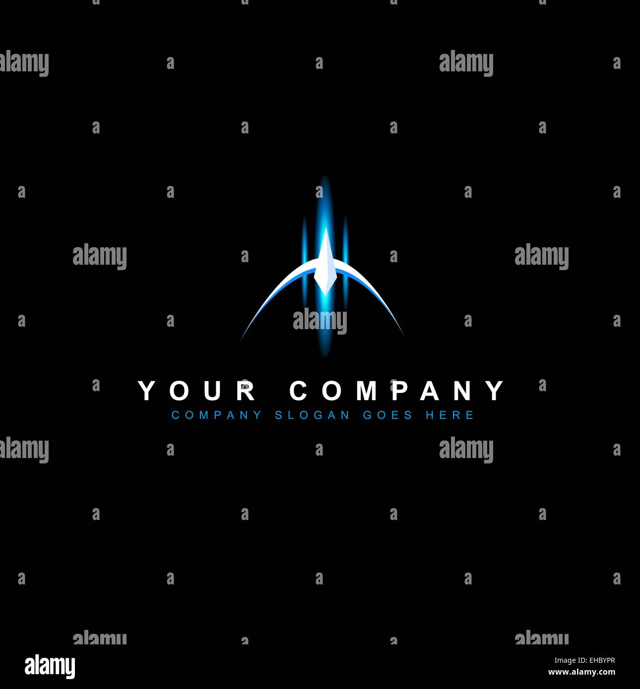 Sci Fi Design Vector. Creative futuristic Space - Stock Image