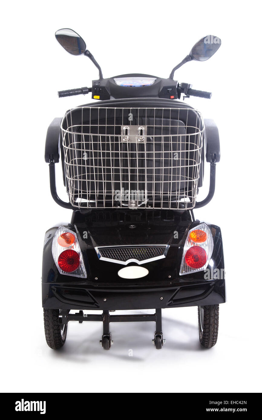 motorized transport fot elderly or physically disabled people - Stock Image