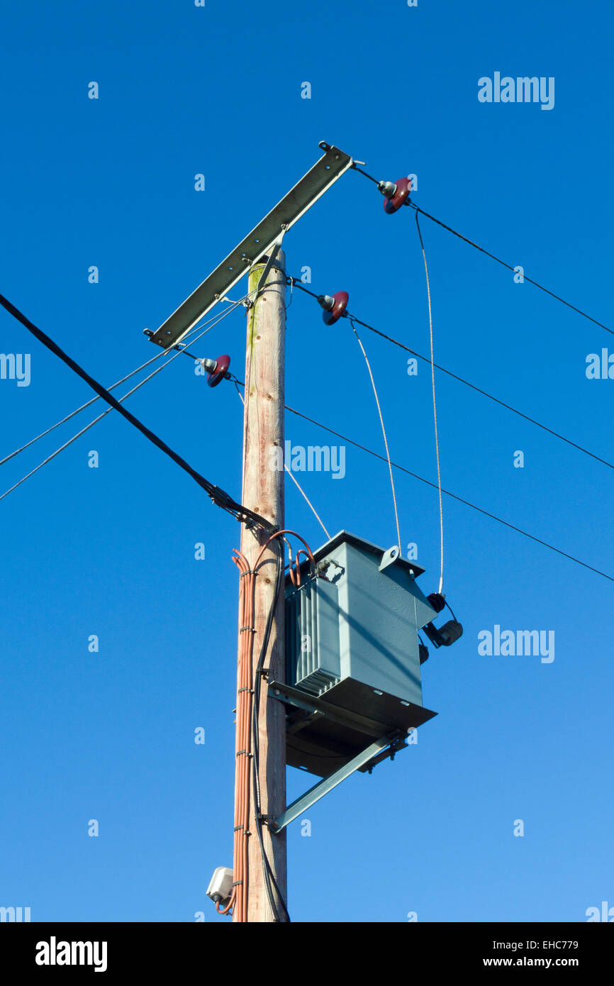 Pole Mounted Transformer Stock Photos Pole Mounted Transformer