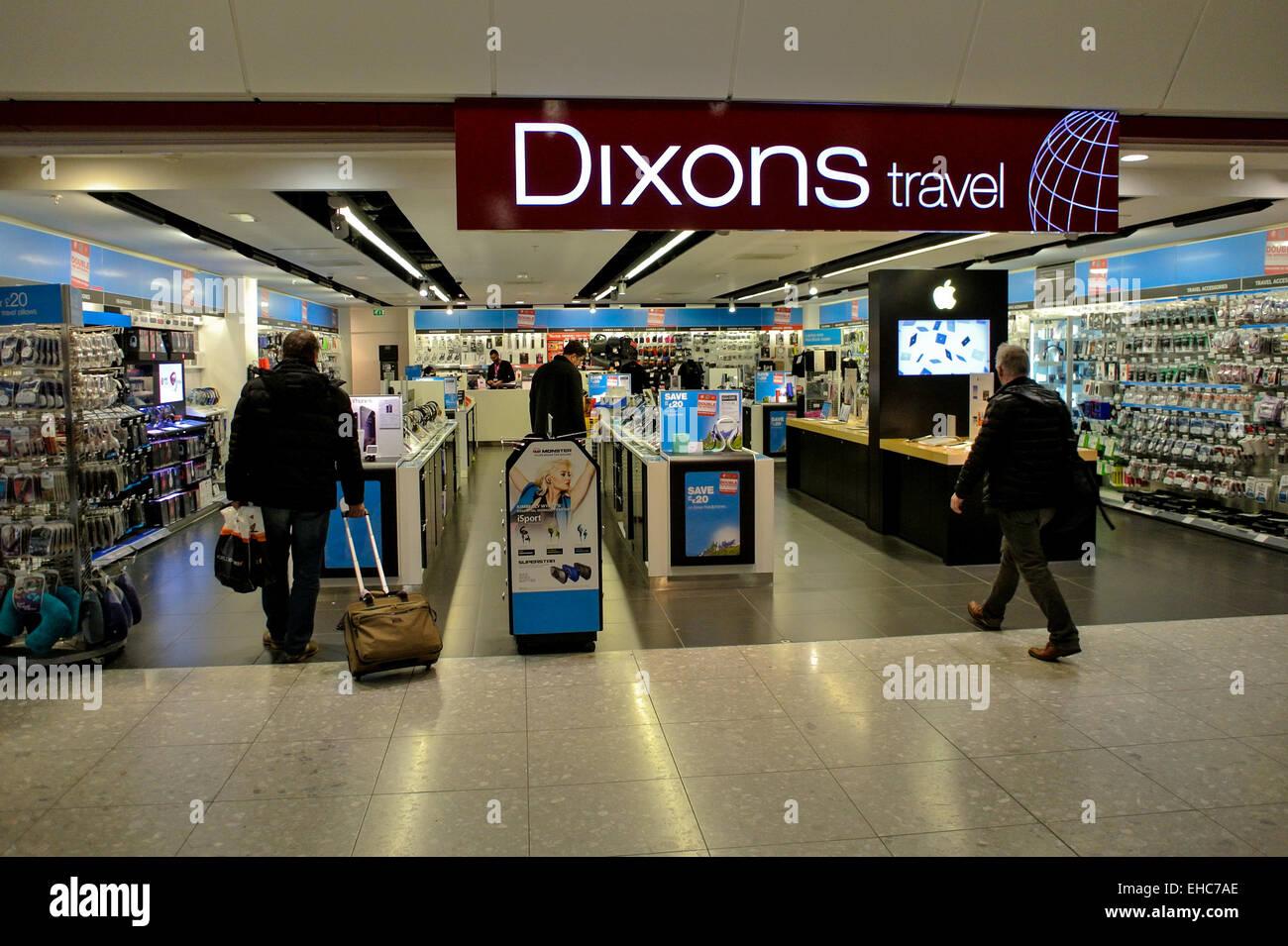 Dixons store at Heathrow Terminal 4 Stock Photo: 79559830