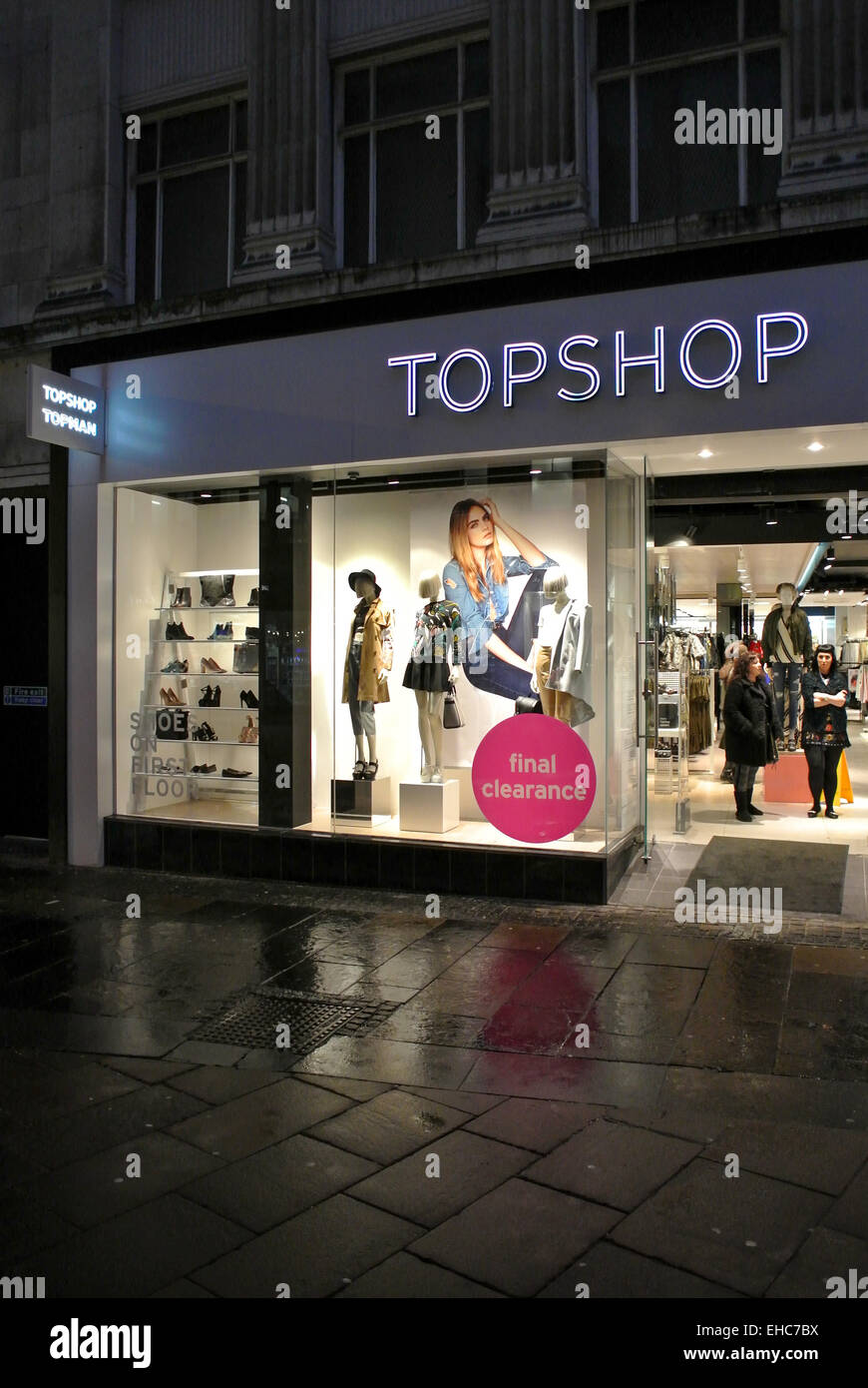 462323a2d Top Shop Topshop Sheffield UK Stock Photo: 79559870 - Alamy
